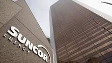 Suncor Energy said a broken 10-centimetre pipe released industrial waste water on Monday morning. (© Todd Korol/REUTERS)