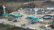 Encana's Horn River Gas play.