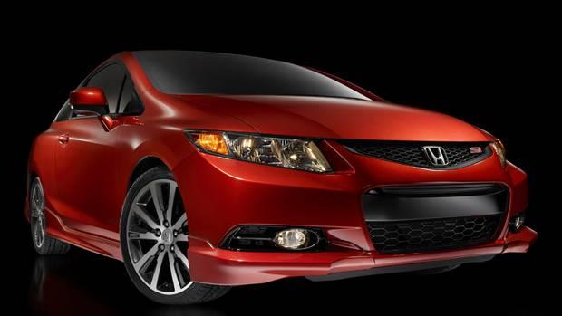 <p>2012 Honda Civic Si Coupe</p>