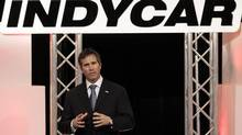 Randy Bernard became IndyCar boss in 2010 and, although his arrival wasn't met with much fanfare, his open style and marketing savvy quickly won him support. However, he was dumped late last year and IndyCar has been without a permanent chief executive. (Darron Cummings/The Associated Press)