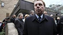 Harry Redknapp leaves Southwark Crown Court in London February 8, 2012. (STEFAN WERMUTH/REUTERS)
