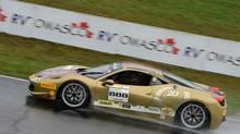 Mark Hacking got the opportunity to drive a Ferrari 458 Italia supercar. (Ferrari North America)