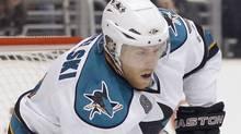 San Jose Sharks centre Joe Pavelski (Chris Carlson/AP)