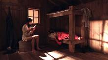 Fair Play, an immersive 3D installation, imagines life for South-Asian Canadians 100 years ago. (Ali Kazimi)
