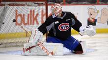 Montreal Canadiens goaltender Carey Price (Sean Kilpatrick/The Canadian Press)