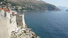 A view from the wall surrounding the medieval Croation city Dubrovnik (Randall Moore / The Globe and Mail)