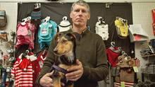 Robert Rodger, owner of a Pet Valu franchise in Aurora, Ont. (JENNIFER ROBERTS/Jennifer Roberts for the)