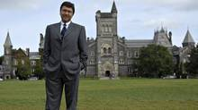 University of Toronto president David Naylor. (Philip Cheung for The Globe and Mail)