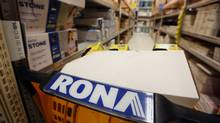 Lowe's agreed to buy rival Rona for C$3.2 billion, creating one of Canada's biggest home-improvement retailers. (Cole Burston/Bloomberg)