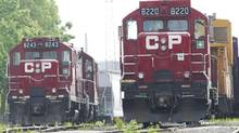 The government moved quickly to end a strike by 4,800 CP Rail engineers and conductors last May by passing back-to-work legislation. (Nathan Denette/The Canadian Press)