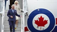 Prince Charles and his wife Camilla arrive in Halifax Sunday, May 18, 2014. The Royal couple begin a four-day tour of Canada. (CP)