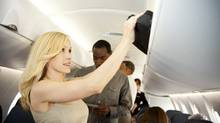 Stop cramming over-sized luggage into the overhead bins. (Sean Locke)