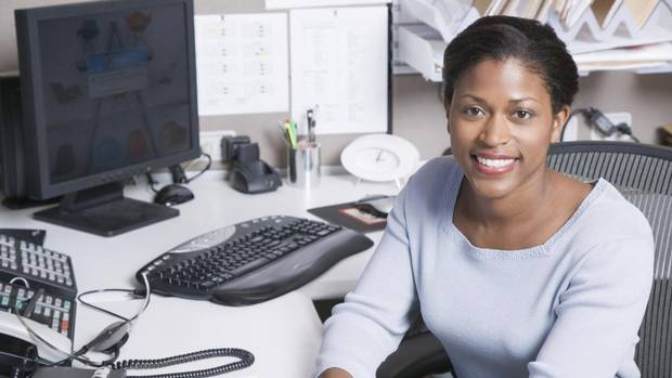 This is part of Globe Careers' series of stories looking at specific jobs, with their qualifications, descriptions, responsibilities and current salaries. Job: Administrative professional (JACK HOLLINGSWORTH/GETTY IMAGES)
