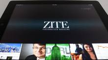 """The Vancouver-based team behind the iPad app Zite is still """"a little traumatized"""" from the overwhelmingly successful launch of its app, which was downloaded 120,000 times in its first week and catapulted atop the free section of Apple's App Store. Now the small start-up company is now staring down a cease-and-desist letter from some of the biggest names in publishing. (THE CANADIAN PRESS)"""