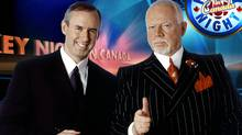 Ron MacLean (left) and Don Cherry on CBC's Hockey Night in Canada. CBC (CBC/CBC)
