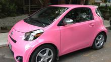 This painfully cute ride should be safe from thieves. (Peter Cheney/The Globe and Mail)