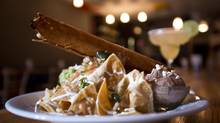Nachos at The Mexican restaurant in Vancouver on Oct.17, 2012. (John Lehmann/The Globe and Mail)