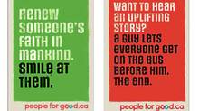 The People For Good campaign. (Handout/Handout)