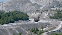 Jeffrey Asbestos Mine open pit is pictured in the town of Asbestos, Qc, July 13, 2010. (Francis Vachon For The Globe and Mail/Francis Vachon For The Globe and Mail)