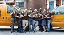 The Spearhead Brewing crew smiles for the camera (Spearhead Brewing)