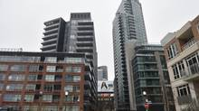 Photos of various condominiums located in the Bathurst St. and Fort York Blvd area of Toronto are photographed on Feb 27 2013. (Fred Lum/Globe and Mail) (Fred Lum/The Globe and Mail)