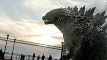 A still from the film Godzilla (Courtesy of Warner Bros. Picture)