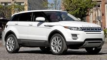 2012 Range Rover Evoque. (Mark Dye/Land Rover)