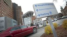 The parking lot at Toronto Western Hospital: The Canadian Medical Journal has said in an editorial that hospitals should stop charging patients for parking. (Kevin Van Paassen/Kevin Van Paassen/The Globe and Mail)
