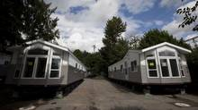 Prefabricated homes in B.C. (JOHN LEHMANN/JOHN LEHMANN/GLOBE AND MAIL)