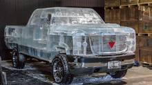 On Dec. 23, Canadian Tire Corp. Ltd. launched a new commercial online promoting its Motomaster automotive battery by testing it in a truck made from ice blocks. The ad hit television starting with the NHL Winter Classic game on Jan. 1. (Canadian Tire)