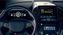 Photo of dashboard featuring Sprint Velocity (Rogers/Sprint)