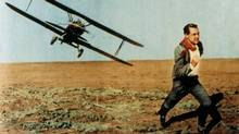 NORTH BY NORTHWEST, starring Cary Grant, from 1959. (Courtesy Everett Collection)