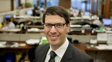 Ryan Fitzgerald is a portfolio manager for CI Investments on the CI Signature High Income Fund. (Della Rollins for The Globe and Mail)