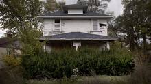 Abandoned houses of Flint, Michigan Oct. 10, 2012. (Moe Doiron/The Globe and Mail)