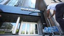 The offices of Quebecor Inc seen in Montreal on May 8, 2013. (Christinne Muschi For The Globe and Mail)