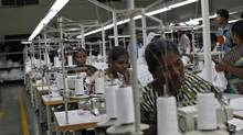 Garment industry tragedies abroad have contributed to Canadian consumers becoming more aware – and critical – of how companies do business. (MANSI THAPLIYAL/REUTERS)