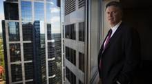 Andy Calitz is the most senior Shell employee with LNG Canada. (Todd Korol for The Globe and Mail)
