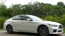 The Infiniti Q50's pricetag is a lot lower than the model it replaces, the G37. (Petrina Gentile for The Globe and Mail)