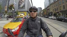 Peter Cheney, road leper, navigates the mean streets of Toronto.