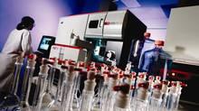 A Patheon Inc. analytical development laboratory (Handout/Patheon Inc.)