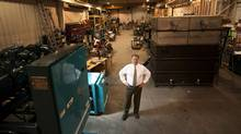 Don Berggrens' Toronto business is finding opportunity in Alberta's oil fields by supplying cooling equipment, increasing his work force to 71 from 45. (Kevin Van Paassen/Kevin Van Paassen/The Globe and Mail)