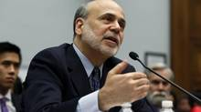 U.S. Federal Reserve chairman Ben Bernanke. (LARRY DOWNING/REUTERS)