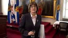 N.S. Finance Minister Diana Whalen is pictured in Halifax on April 3, 2014. THE CANADIAN PRESS/Andrew Vaughan