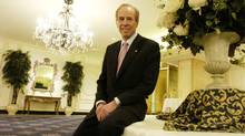 Four Seasons Hotels founder and chairman Isadore Sharp (Tibor Kolley/The Globe and Mail)