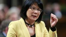 Olivia Chow has not made up her mind about challenging Mayor Rob Ford in next October's vote. (BLAIR GABLE/REUTERS)