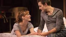 Elodie Gillett and Adrian Marchuck sing Sondheim in Tarragon Theatre's production of Marry Me a Little. (Cylla von Tiedemann)