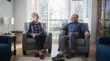 After 39 years, Roger and Joan Eastwood sold their four-bedroom North Vancouver home last summer and purchased a 1,070-square-foot condo in the same area for $600,000. (Ben Nelms/The Globe and Mail)