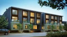 East Village condominiums, Leslieville, Toronto (Aykler Developments/Urban Fabric Developments)