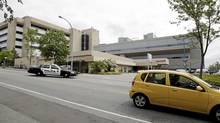 Royal Columbian Hospital in New Westminster, B.C. (Lyle Stafford/The Globe and Mail)