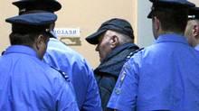 General Ratko Mladic ( arrives at special court in Belgrad, May 26, 2011. (Reuters/Reuters)